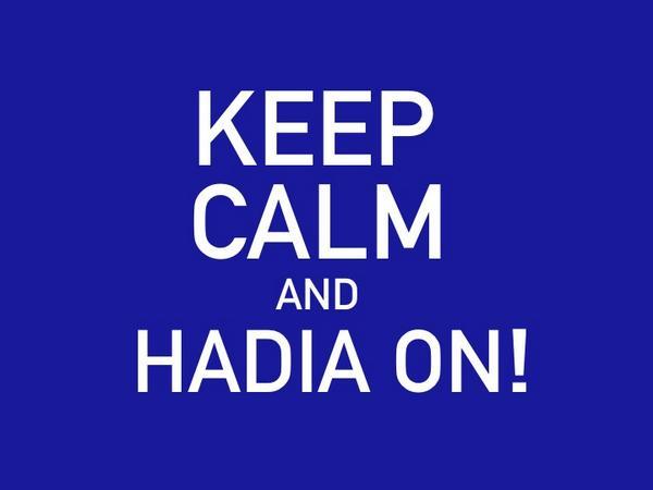 Arbeiderpartiets rose @HadiaTajik står som en påle. Hele @Nordic_Choice heier! http://t.co/GdR3RmavZ2