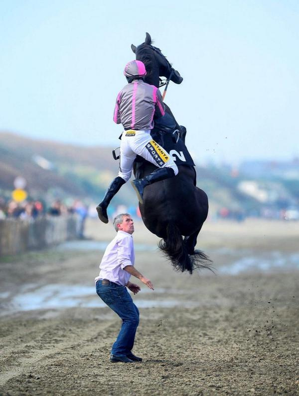 They are not all great rides #LaytownRaces http://t.co/3PppiWQWN7