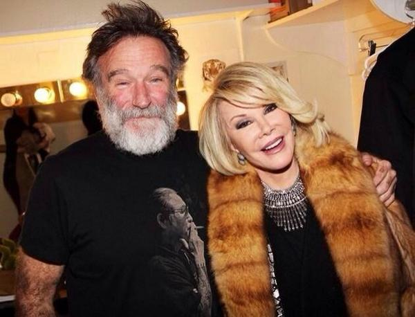 Wherever these two are tonight.... I hope they're having a laugh. #RIPJoanRivers http://t.co/Zd1cICzrL3