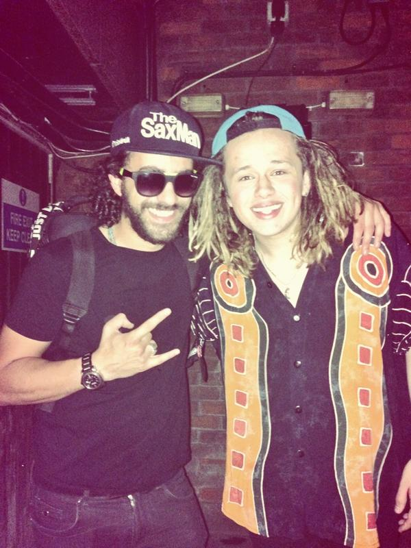 Absolute pleasure meeting this boy @LukeFriendMusic tonight at the one and only @BodosSchloss with @DJCHARLESS!