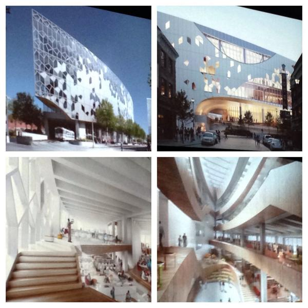 Wow! Looking good Calgary! RT @voyagevixen: Checking out the awesome New Central @calgarylibrary design http://t.co/sMjwMfvIGU