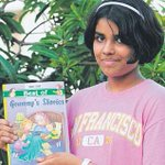 RT @the_hindu: 13-year-old Yamini Prashanth is set to release her second book Best of Granny's Stories http://t.co/6qxOeWFI70 http://t.co/u…