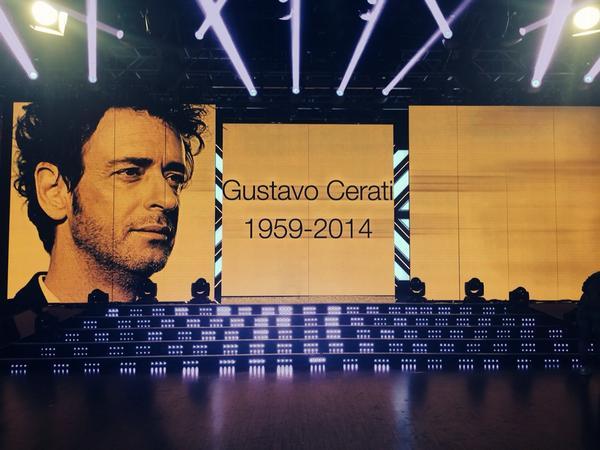 Eterno #graciasCERATI Homenaje en #showmatch @cuervotinelli http://t.co/VnJZflUs6R