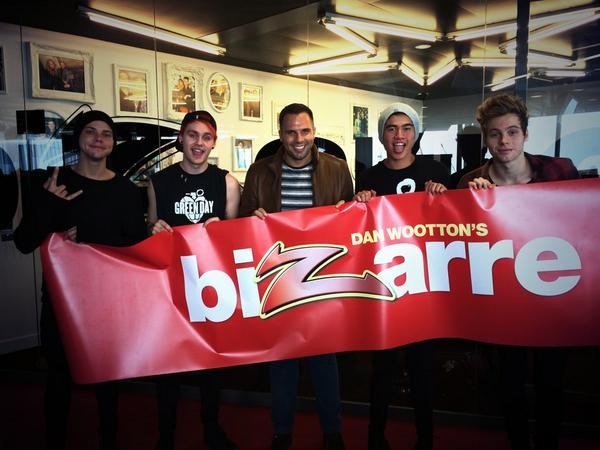 Big news! @5SOS are taking over Bizarre tomorrow. Don't miss Saturday's @TheSunNewspaper It's going to be wild! http://t.co/uTZU7J3U84