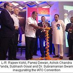 RT @swamyforpm: .Dr @Swamy39 @ 30th annual convention of IATO http://t.co/JimGFBJoOl