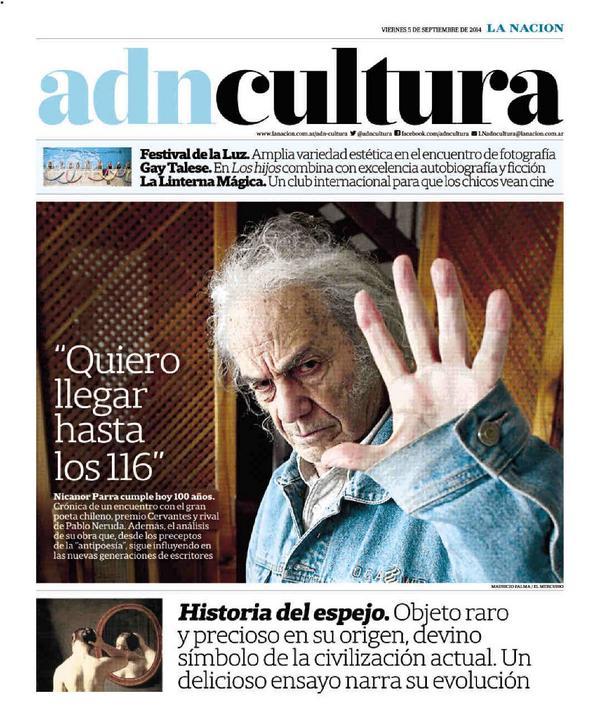 adnCULTURA (@adnCULTURA): Nicanor Parra: