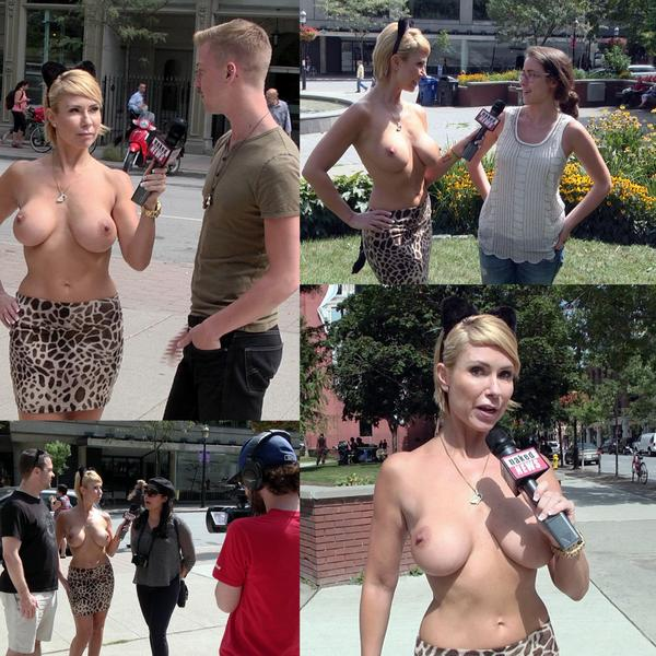 Melissa goes Naked in the Streets talking about cougars on today's ...