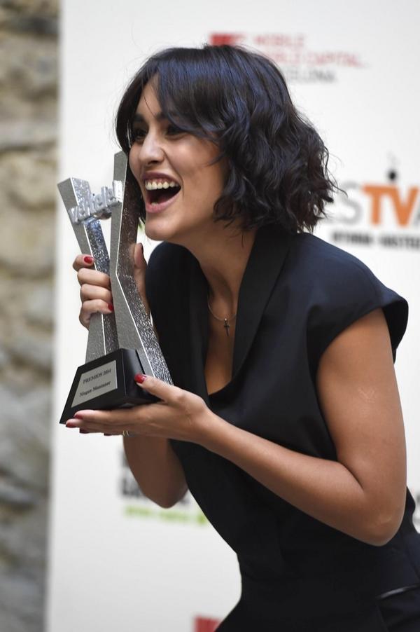 Te quiero petarda!!! @MeganMontanerG te lo mereces!!! Ahora a por el @PremiosGoyaEs !!!!!!! @Vertele @festval http://t.co/rqxKTcgWEb