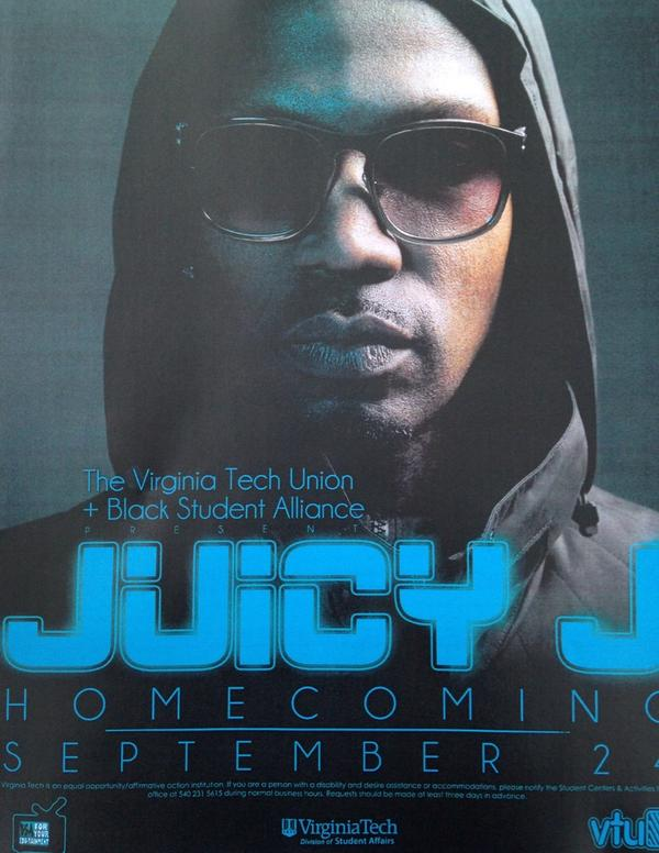 Who's ready to get trippy? @therealjuicyj SEPTEMBER 24th TICKETS GO ON SALE MONDAY!!@BSAofVT http://t.co/MrBSgXQaTR