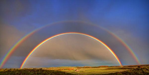 Double #rainbow over Laramie, WY http://t.co/5EboXnOuux #weather #photography http://t.co/W7MGUywXU1