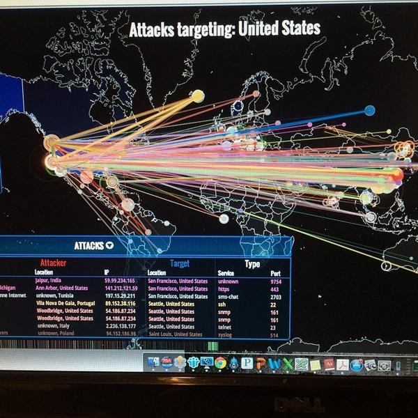 The cyberspace is angry today, my friends - like an old man trying to send back soup in a deli. #cyberattack #hap... http://t.co/uQVCRhoXmc