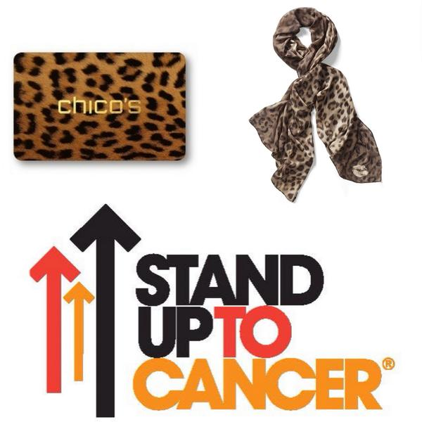 #Win4SU2C 1st to retweet this #wins our scarf benefiting @SU2C & a $25 Chico's gift card. Go! http://t.co/pujrKN2Qbr http://t.co/b8siEFkf61