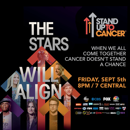 Join us for the @SU2C live telecast tonight at 8! Tune in and let's #StandUpToCancer. http://t.co/5BoZhRYZbz #11Alive http://t.co/b06efdLl4S