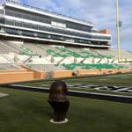 RT @MeanGreenOps: Its Gameday at North Texas! Come out to Apogee Stadium to watch @MeanGreenFB take on Nicholls State! #GoMeanGreen http://t.co/s33I3uGY6S