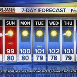 Are monsoon storms possible this weekend? Check the full forecast: http://t.co/V4edvLMVGJ #abc15 http://t.co/ekJZXSz1a1