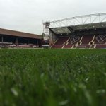 RT @JamTarts: Even in the drizzle, Tynecastle looks splendiferous. We hope you can join us today! http://t.co/Ej3sb7wWMZ
