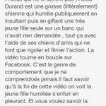 RT @caatiminii: Pour ceux qui nont pas vu la vidéo de la garce dAlicia Durand. Faites tourner. #AliciaDurand http://t.co/OINsCEdN5S