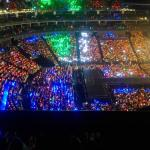 RT @exostruck: 140920 The Rainbow ocean for TLP in Beijing tonight! Each member has its own ocean (color). http://t.co/Tw5UIAoUzZ