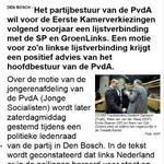 PvdA-top radeloos, wil Lijstverbinding met GL en SP. Zal Roemer vast op zitten te wachten. http://t.co/X5acrPl6hK http://t.co/binaGuKhnn