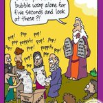 RT @causticbob: what really happen when moses delivered the ten commandments to the israelites http://t.co/m2Uyy2AKXD