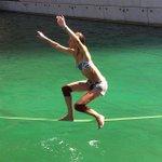 En équilibre sur les eaux de la Villa Méditerranée ! @UE_Series @villa_mediterra #Marseille #JEP2014 http://t.co/npfxEweZnN