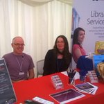 New to #CCCU and curious about what your library can offer you? Come for a chat in the Information Marquee! http://t.co/L5eDRvgt3o