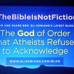 RT @mybhabyruth: #TheBibleIsNotFiction Read and share Bro. Eli Sorianos latest blog. Pls visit http://t.co/Dg2Fw2CbUo http://t.co/GTJvXxyFbq