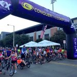 RT @VisitCCTexas: And theyre off! Were already on to the 4th wave! #CorpusChristi #conquerthecoast #CTC2014 http://t.co/sUyf5QZGlT
