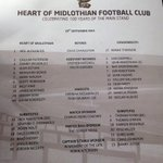 Todays team sheet: #HMFC http://t.co/YxxrefXMna