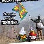 RT @HDP_Universite: HDK/HDP İstanbul il örgütleri IŞİD vahşetine karşı sokağa çağırıyor! 21 Eylül Pazar 15.00 Taksim/Tünel #DirenKobane http://t.co/K0N9Xq6IJ3