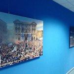 #OMSRFC les couloirs du Vélodrome sont désormais parés de photos historiques ! http://t.co/AxBtXPQXqf