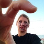 Ive got my zombie on! Escape the Chase Zombie Mud Run is happening today in Mesa. 9am at Elliot and Signal Butte. http://t.co/cZdCAudrHJ