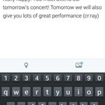 RT @exoneominyeo: Sehun: Todays concert is really great, im really happy. You must attend our tomorrows concert! (Cont) http://t.co/DDuujSqCNs