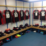 #htafcs players will wear their red and black change strip during todays game at Elland Road (DTS) http://t.co/W7FwbQDPWQ