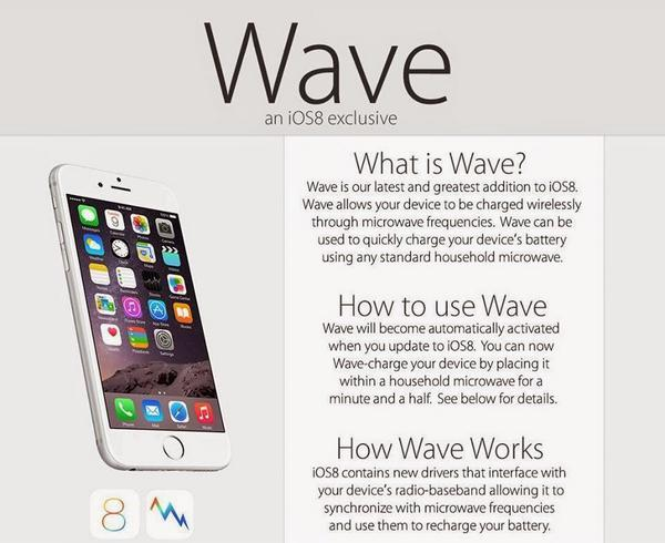 Please don't microwave your iPhone http://t.co/4uJeaDU5SX #iOS8 #iOS8Problems (iOS 8's newest feature upgrade hoax) http://t.co/9arG9f9YcP