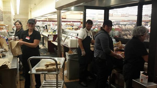 Thank you to our Raley's #Placerville team, who made 500 sandwiches for fire crews battling the #KingFire http://t.co/VouvvCu3pV
