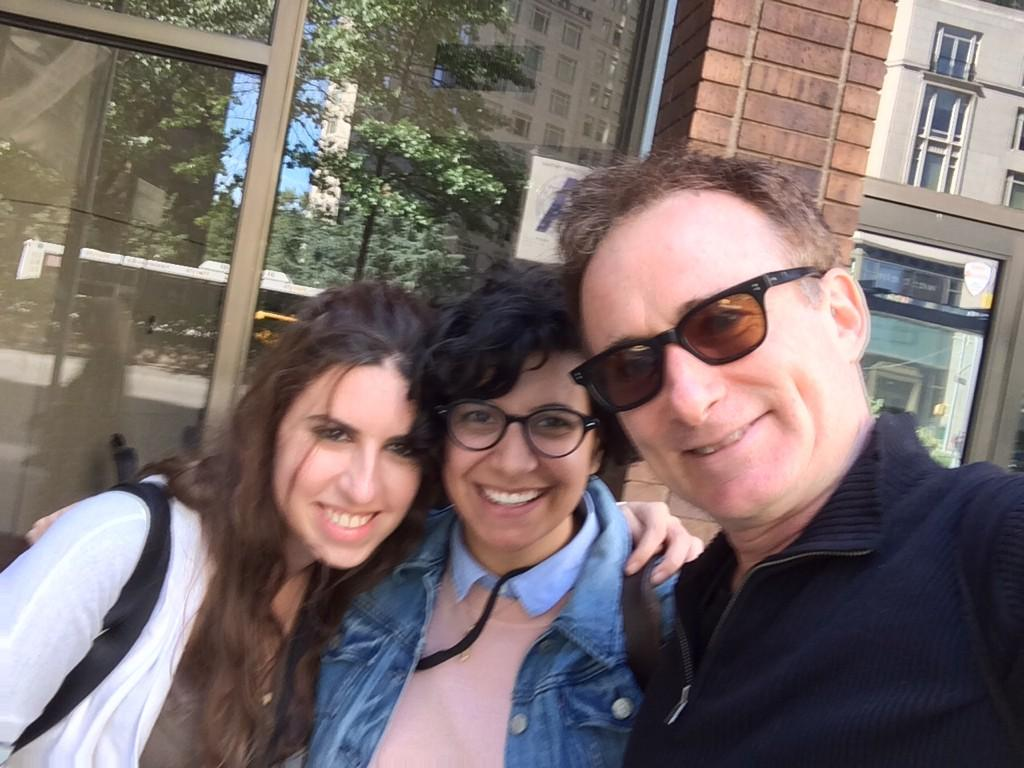 #tbt this past Sunday @Slamdance #nyc reunion w Anna Bananna @Tzela, Kristin Molloy @KMolloys all wk @ifpfilm week http://t.co/j8nLowxbmc