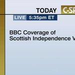 """#Écosse La soirée référendaire de la BBC via @cspan, cest ici =>> http://t.co/FSLBgjQlyw (via @fdastous) http://t.co/rR4q4WU9s5"""""""