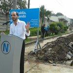RT @elblog: @nayibbukele inaugura el proyecto de agua potable gratuita en Nuevo Cuscatlán. http://t.co/e8tAMUSM0F