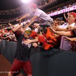 RT @Angels: Plenty of fans stuck around 2 watch #Angels clinch the AL West last night. Celebration ensued: http://t.co/dxyhCUTDka http://t.co/Wx1EA082N7