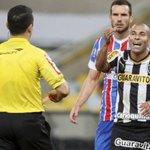 Expulso na derrota do Botafogo, Sheik pode ser punido por ofensas a árbitro e ataque à CBF. http://t.co/sHYOlPjeSj http://t.co/3rUL9kEk81