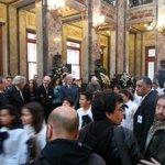 Vázquez y Astori asisten a la despedida de China Zorrilla en el Palacio Legislativo http://t.co/e7drDNzi3w
