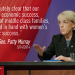 Hear from Sen. @PattyMurray today at 11:30 at http://t.co/DVM0h0NKix. #Progress4Women http://t.co/xHzQaaRT8o