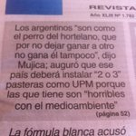 """RT @leohaberkorn: Mujica habló en Finlandia de las pasteras y """"los argentinos"""". Hoy en @BUSQUEDAonline http://t.co/tR1vHXMiJY"""