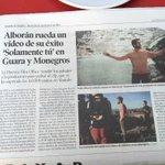 """RT @Alboragonesas: Hoy en el @heraldoes sale un reportaje del video """"Solamente Tu"""" grabado en Huesca. @pabloalboran via: @VickyMartinez2 http://t.co/g7WFN2zFac"""