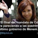 RT @lanacioncom: [OPINION] Si @CFKArgentina se presentara, perdería las elecciones  Por @majulluis http://t.co/Q0XWNnb9mI http://t.co/5OKMc7UrkI