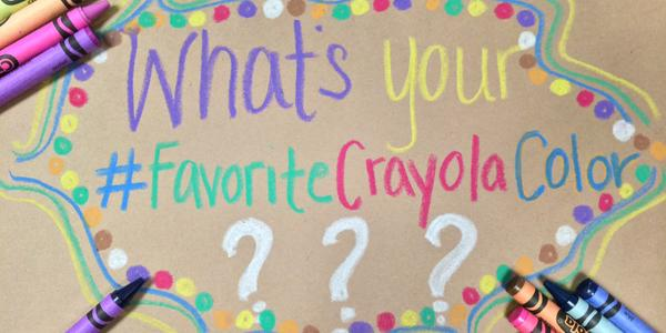 Share your #FavoriteCrayolaColor & enter to win $100 & a custom 64 count crayon pack! http://t.co/229VsCkhe5 #sweeps http://t.co/BMJXwZ78DE