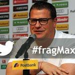 Denkt dran! In einer Stunde startet der Twitter-Chat mit Max Eberl. Jetzt schon Fragen stellen: #fragMax #Fohlenelf http://t.co/qhastFQvQH