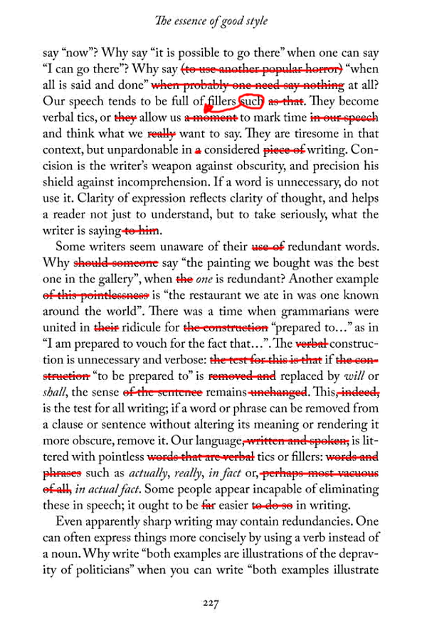 In his book 'Simply English', Simon Heffer recommends cutting redundant words. Well, he's convinced me. http://t.co/9hHL0ZX8Nk