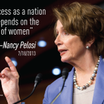 Hear more from @NancyPelosi today 11:30am at http://t.co/fggFBYKOX8 #Progress4Women http://t.co/26zszZTivN